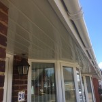Replacement fascia,soffit and gutter in white3