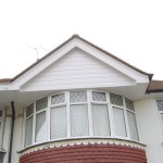 New uPvc cladding to replace damaged and cracked render