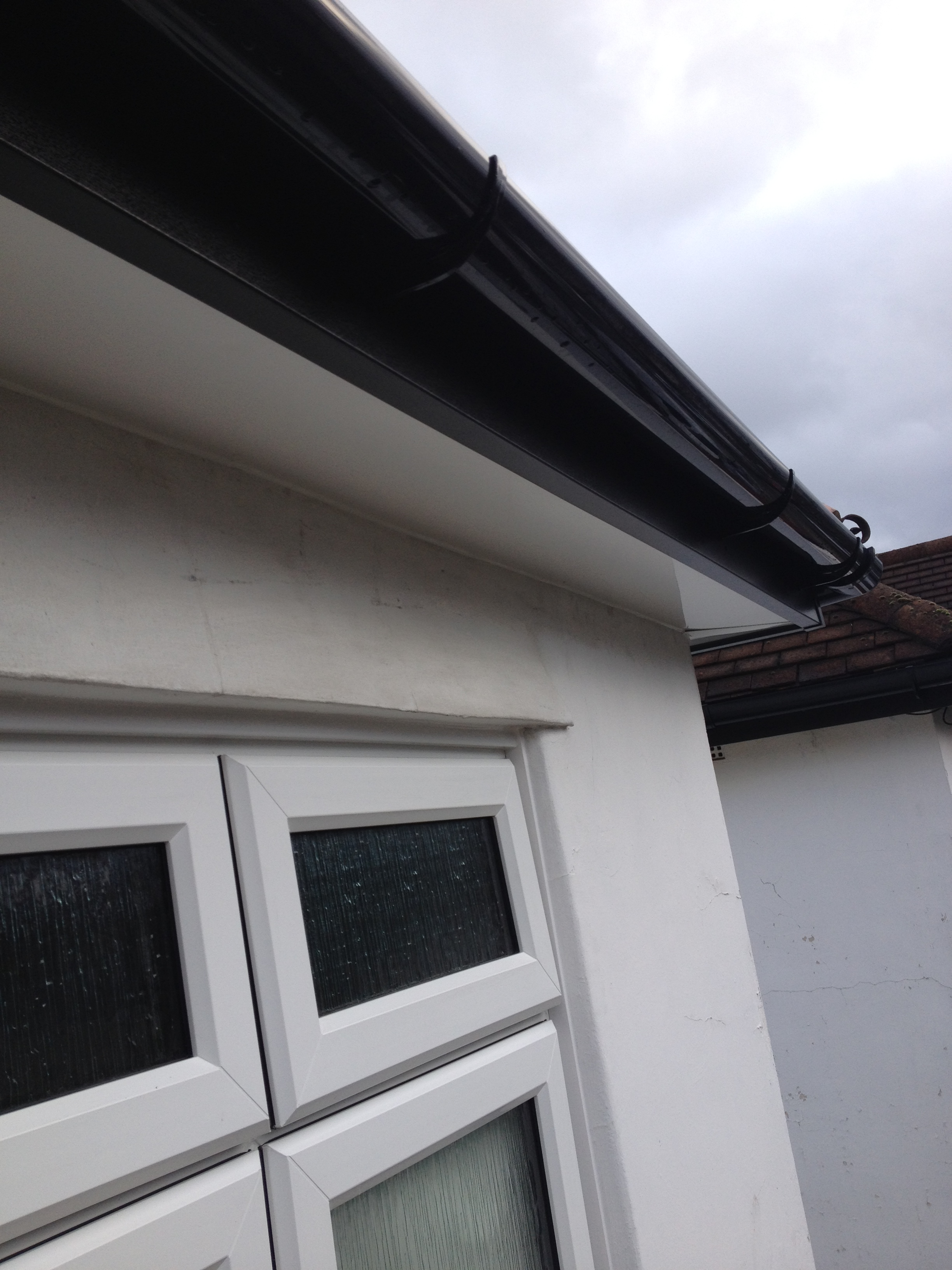 White Upvc Fascia Soffits Bargeboards Cladding Amp Guttering