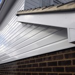Cladding Bargeboard Vented Soffit And White Square