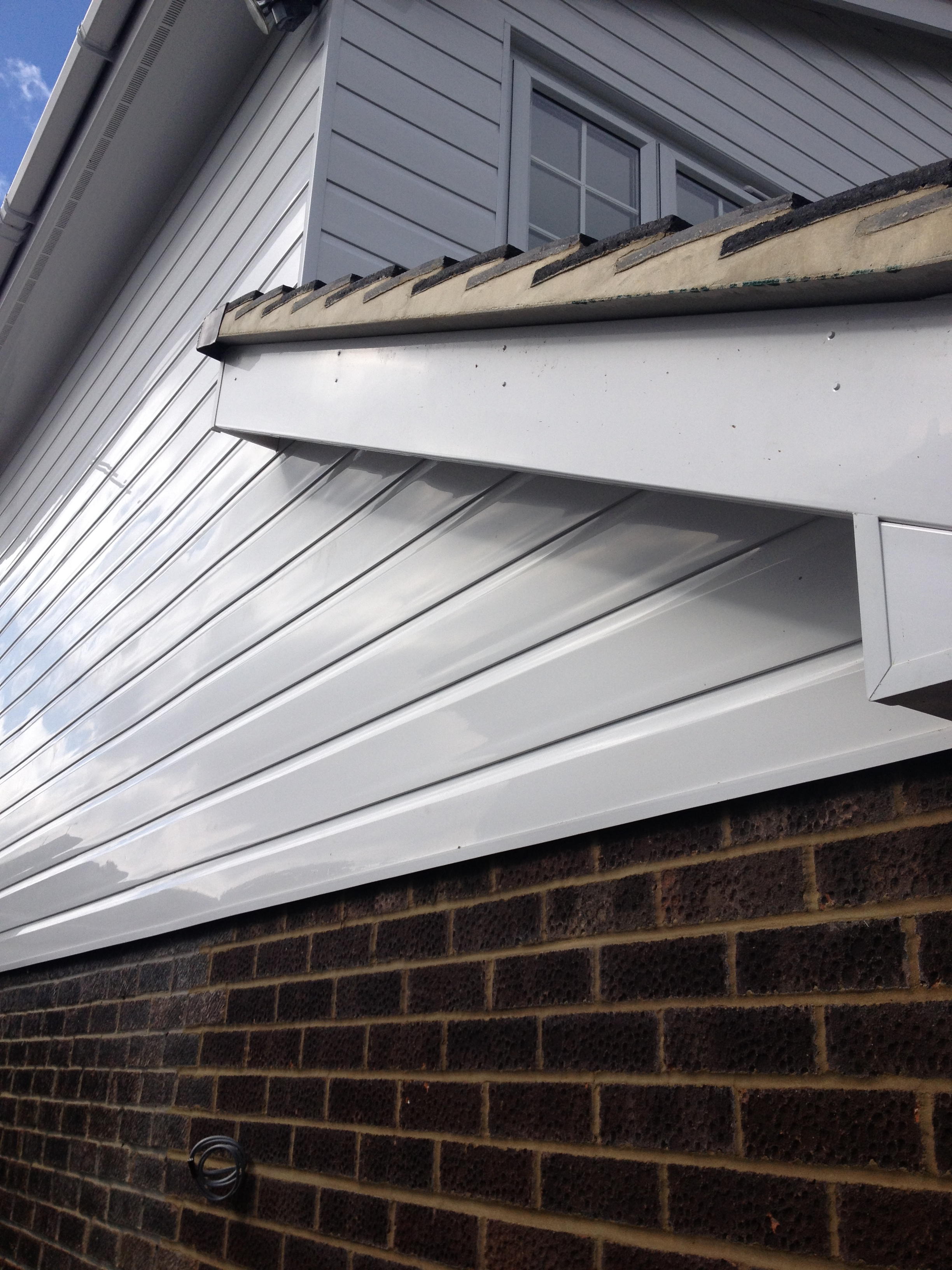 White Upvc Fascia Soffits Bargeboards Cladding Guttering