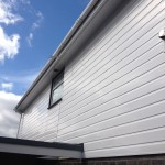 Upvc Cladding Vented Soffit White Square Gutter