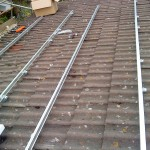 3- Aluminium rails fitted