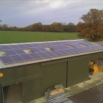 9.9kw Conergy 220w panel system