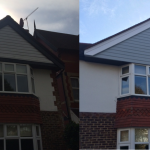 Light Mist Gable before and after